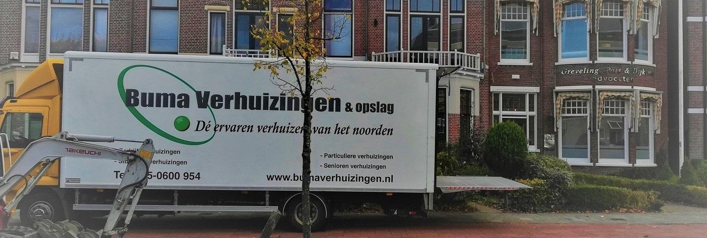 Verhuizen, Friesland, Groningen, Drenthe